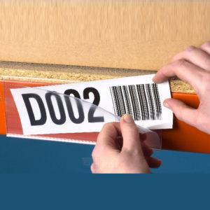 Magnet merkeholder 200x52mm