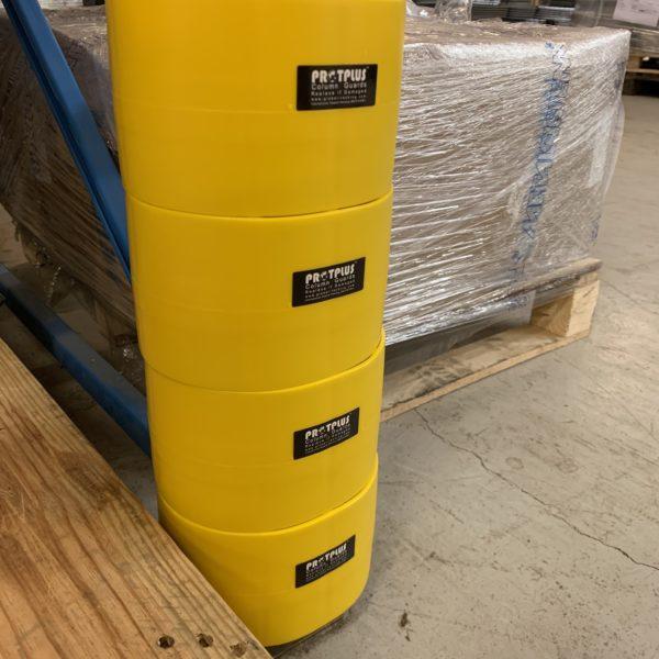 stolpebeskytter i plast 400